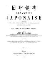 Grammaire japonaise accompagnée d'une notice sur les différentes écritures japonaises d'exercices de lecture et d'un aperçu du style sinico-japonais ...
