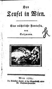 Der Teufel in Wien: eine nächtliche Fantasie