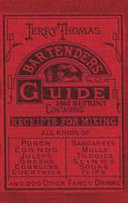 Jerry Thomas Bartenders Guide 1862 Reprint