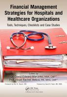 Financial Management Strategies for Hospitals and Healthcare Organizations PDF