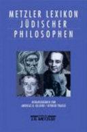 Metzler Lexikon j  discher Philosophen PDF
