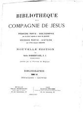 Bibliothèque de la Compagnie de Jésus: Volume3