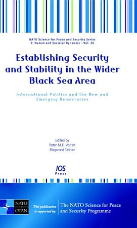 Establishing Security and Stability in the Wider Black Sea Area PDF