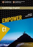 Cambridge English Empower Advanced Student s Book PDF