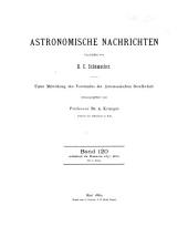 Astronomical notes