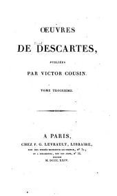 OEuvres de Descartes, publiées: Les principes de la philosophie
