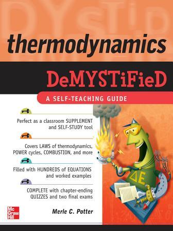 Thermodynamics DeMYSTiFied PDF