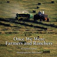 Once We Were Farmers and Ranchers PDF