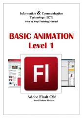 BASIC ANIMATION LEVEL 1 (MALAY): Adobe Flash CS6