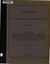 Annalen der K.K. Universitäts-Sternwarte in Wien (Währing).