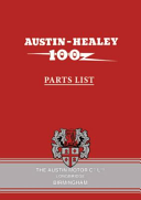 Austin-Healey 100 BN1 & BN2 Parts List
