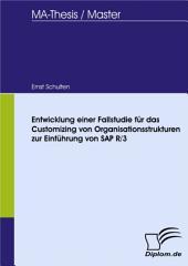 Entwicklung einer Fallstudie für das Customizing von Organisationsstrukturen zur Einführung von SAP R/3