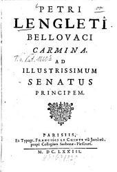 Carmina ad illustrissimum senatus principem