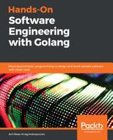 Hands On Software Engineering with Golang PDF