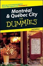 Montral & Qubec City For Dummies