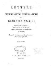 Lettere e dissertazioni numismatiche: Volumi 1-3