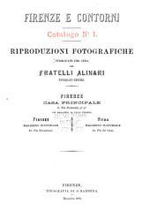 Riproduzioni fotografiche: pubblicate per cura dei Fratelli Alinari, fotografi-editori, Edizioni 1-4