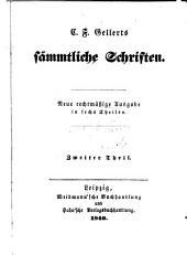 C. F. Gellerts sämmtliche Schriften