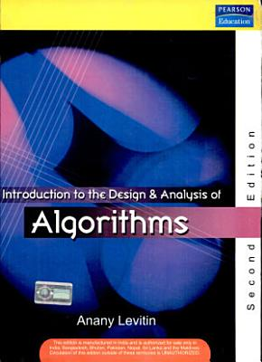 Introduction To The Design Analysis Of Algorithms 2