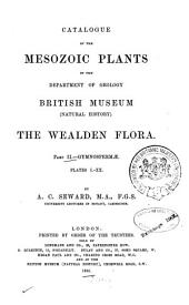 Catalogue of the Mesozoic Plants in the Department of Geology British Museum (Natural History).: Gymnospermae. 1895