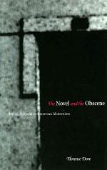 The Novel and the Obscene