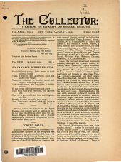 The Collector: A Monthly Magazine for Autograph and Historical Collectors, Volume 23, Issue 3