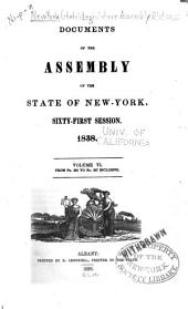 Documents of the Assembly of the State of New York: Volume 6