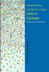 Lexis in Contrast: Corpus-based approaches