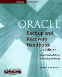Oracle Backup   Recovery Handbook PDF