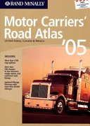 Rand Mcnally 2005 Motor Carrier's Road Atlas