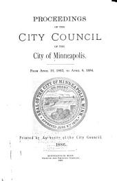 Proceedings of the City Council of the City of Minneapolis, Minnesota from: Volume 9