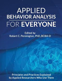 Applied Behavior Analysis for Everyone Book