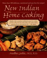 New Indian Home Cooking PDF