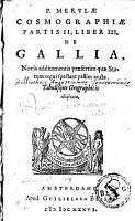 Partis II  liber III de Galia PDF