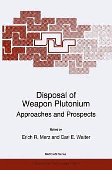 Disposal of Weapon Plutonium PDF