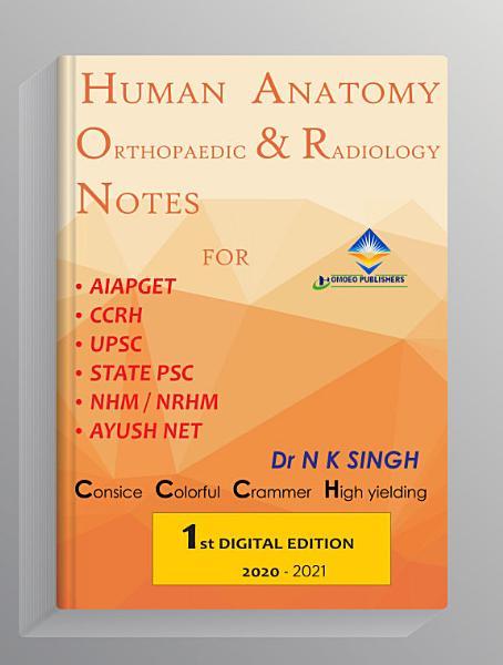 HUMAN ANATOMY ORTHOPAEDIC & RADIOLOGY NOTES
