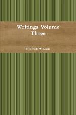 Writings Volume Three