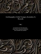 Autobiography of John Younger: Shoemaker, St. Boswells