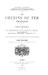 Les chemins de fer français: Période du 4 septembre 1870 au classement de 1879