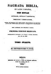 Sagrada Biblia: en latin y español, con notas literales, críticas é históricas, prefacios y disertaciones, sacadas, Volumen 4