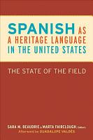 Spanish as a Heritage Language in the United States PDF