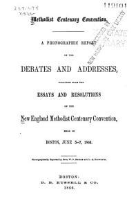 Methodist Centenary Convention PDF
