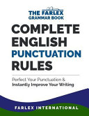 Complete English Punctuation Rules PDF