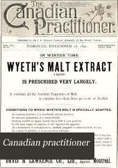 Canadian Practitioner: Volume 16