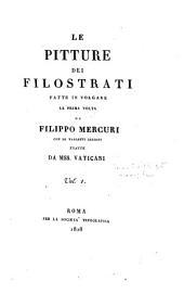 Le pitture dei Filostrati: (e le statue di Callistrato)