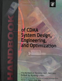 Handbook of CDMA System Design  Engineering  and Optimization PDF