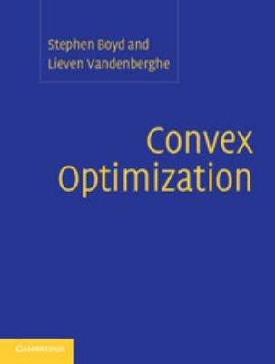 Convex Optimization PDF