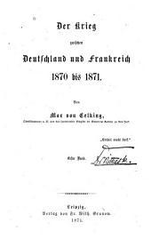 Der krieg zwischen Deutschland und Frankreich 1870 bis 1871