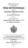 Enth  lt die Verordnungen vom 1  J  nner bis 31  Dec  1840 PDF