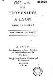 Lettres à ma fille sur mes promenades à Lyon